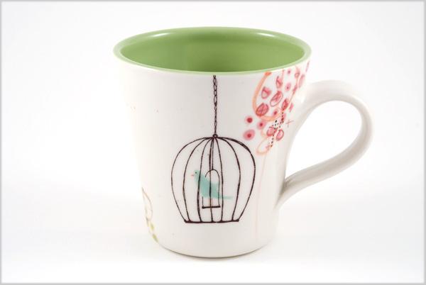 Mug_bird_green