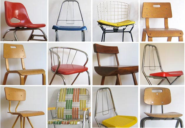Vintage Children's Chairs - BlueBird Hill: Vintage Children's Chairs