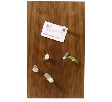 Woodmagnetboard