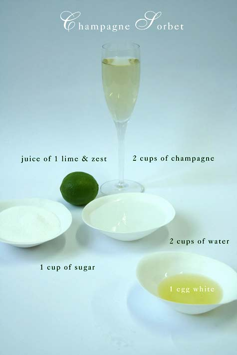 Champagne-sorbet-ingredient